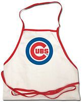 Chicago Cubs MLB Baseball Team Logo BBQ Grilling Apron
