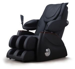 New Fujita SMK8800 Black Full Body Massage Chair Recliner w 3 Year Warranty