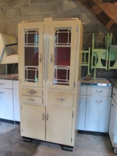 Art Deco Free Standing Kitchen Cabinet Pantry Oxford Industries