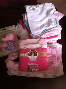 Lots 20 Pieces Baby Girl Clothes Newborn 0 3 Months Beautiful
