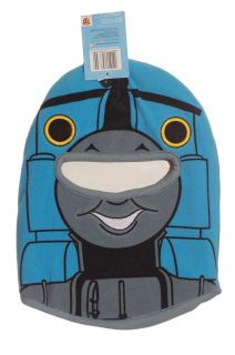 Boys Thomas The Train Face Mask Halloween Costume Accessory Warm Winter Hat New