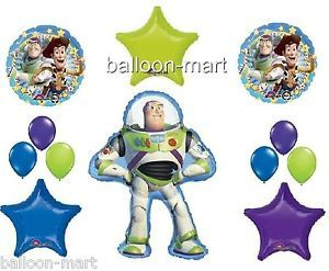 Disney Toy Story Balloons Set Buzz Lightyear Woody Party Supplies Decorations