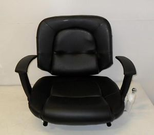 Pure Sana Cachet All Purpose Styling Salon Chair Black with Chrome Base