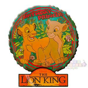 Disney Lion King Mylar Balloon Nala Birthday Princess Party Supplies Decorations