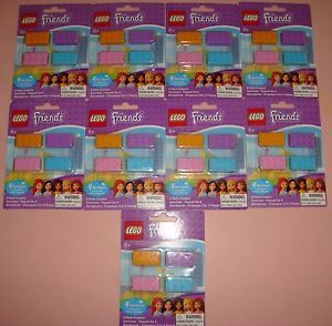 Lego Friends Girls 4 Pack of Erasers Party Birthday Favors All New 9 Packs 36