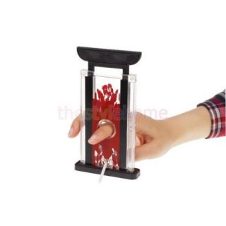 Finger Hay Cutter Chopper Magician Trick Prop Magic Supplies Toy Easy to Perform