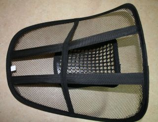 Mesh Lumbar Back Brace Support Car Seat Chair Cushion