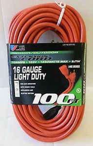12 Gauge Outdoor Extension Cord