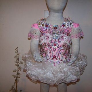18 to 3 T High Glitz Pageant Dress