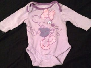 Newborn Baby Girl Outfit Minnie Mouse