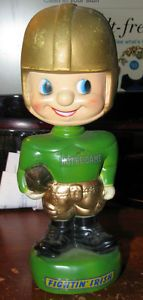 1970's Notre Dame Fighting Irish Football Bobblehead Nodder