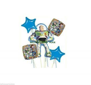 Disney Toy Story Buzz Balloons Birthday Party Bouquet