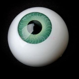 8 Half Round Eye Eyeballs for Mask Skull Halloween Prop