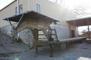 48 Foot Gooseneck Flatbed Trailer