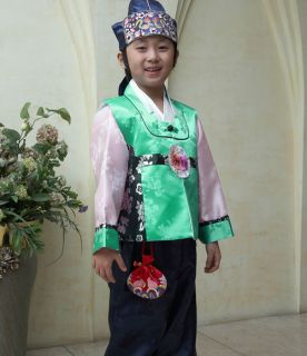 Korean Traditional Clothes HANBOK 1011 Boy Baby Toddler Kids Men Dress Party