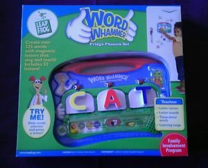 Leap Frog Fridge Phonics Word Whammer Complete Alphabet Educational LeapFrog