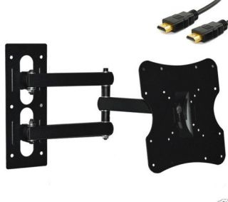 Full Motion Articulating Flat LCD LED Tilt Swivel TV Wall Mount 10 17 22 26 32""