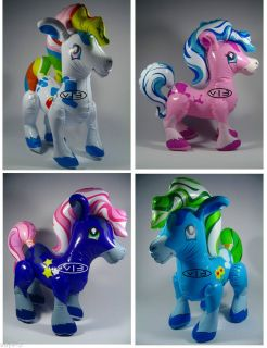 Pony Horse Little Pony Inflatable Toys Blow Up Party Party Favor Decor 27""