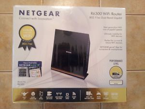 Brand New Factory SEALED Netgear R6300 WiFi Router 802 11AC Dual Band Gigabit