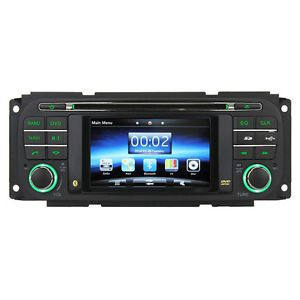 Autoradio GPS Unit DVD in Dash Navigation Jeep Grand Cherokee Dodge Chrysler