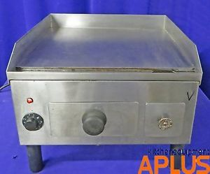 "Electric Griddle Flat Grill 115 Volts 18"" Wide Model"
