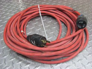 Details about SINGLE PHASE 25 FOOT (APPROX) EXTENSION CORD 220V
