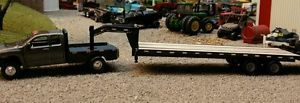 1 64 Scale Gooseneck Flatbed Trailer Ertl DCP First Gear Diroma Hotwheels