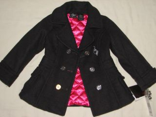 Baby Phat Girl Gray Quilt Winter Coat Jacket 4T New