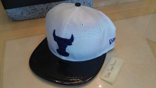 New Nike Air Jordan Retro XI 11 Concord 2011 Chicago Bulls Era Hat Fitted 7 1 4