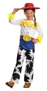 Disney Toy Story Jessie Halloween Costume Cowgirl Jumpsuit Cow Girl Child 5480