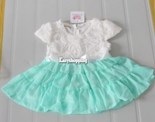 Kids Toddlers Dress Girls Tutu Skirts Cotton Princess Dress Size 2 9 Years