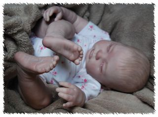 New Release Reborn OOAK Doll Lifelike Art Artist Fake Baby Gemma Donna RuBert