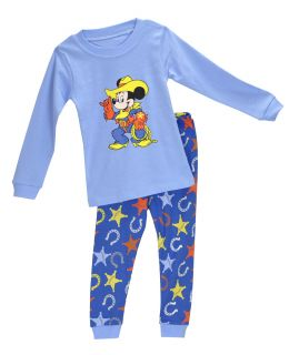 "Baby Toddler Clothing Kids Boys' Sleepwear ""Mickey "" Pajamas Set 2 7Y"