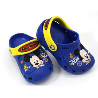 Disney Mickey Minnie Mouse Custom Clog Baby Kids Sandals Size C4 5 C6 7 C8 9