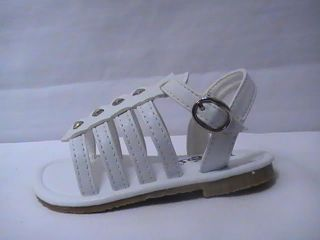 Baby Girl White Gladiator Sandal 61 Infant Size 1