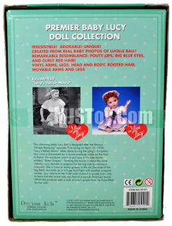 I Love Lucy Premier Vinyl Baby Doll Collection