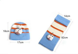 Cute Baby Girls Boys Hats Scarf Sets Unisex Ladybug Caps Toddlers Baby Clothes