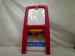 Step2 Easel for Two with Bonus Magnetic Letters Numbers