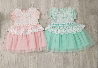 New Kids Toddlers Girls Princess Lace Tutu Skirts Dresses AGES2 7Y