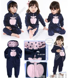 Baby Kid Toddler Infant Boy Girl Onesie Bodysuit Romper Jumpsuit Coverall Outfit