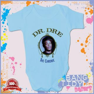 Hip Hop Baby Grow Dr Dre The Chronic Boy Girl Babies Clothing Gift