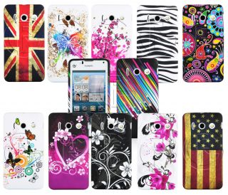 Soft TPU Gel Case Skin Cover for Huawei Ascend Y300 U8833 T8833 Screen Film