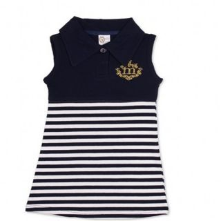Baby Girl Stripe Sailor Dress Clothes 1 6Y Kids Slim Casual Tank Top Skirts