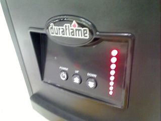 DURAFLAME 1500 Watt Infrared Quartz Heater $129 97