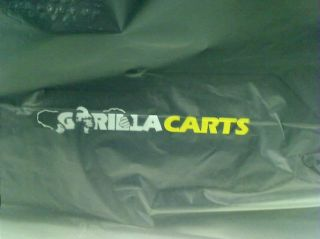 Gorilla Carts GOR866D Heavy Duty Garden Poly Dump Cart $129 00