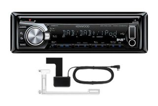 Kenwood KDC DAB41U Car Stereo DAB Digital Radio Aerial CD  USB iPod iPhone