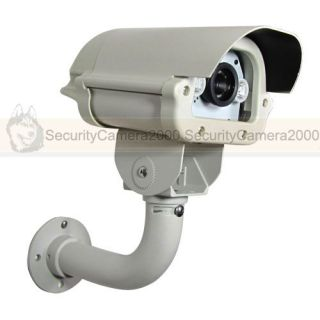 Outdoor Waterproof 540TVL Sony CCD Car License Plate Camera 63 White LEDs CE FCC