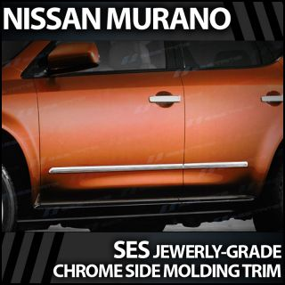 2003 2008 Nissan Murano Ses Chrome Door Molding Trim