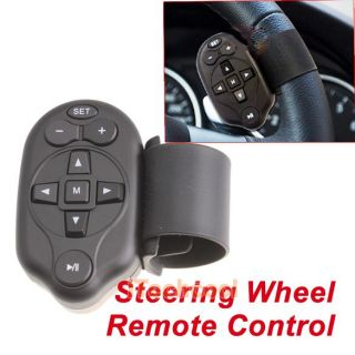 Universal Steering Wheel IR Remote Control for Car DVD Player GPS TV CD  New