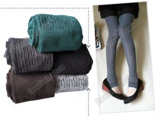 5 Colors Comfortable Women Cotton Tights Pants Leggings Stirrup Winter Warm New